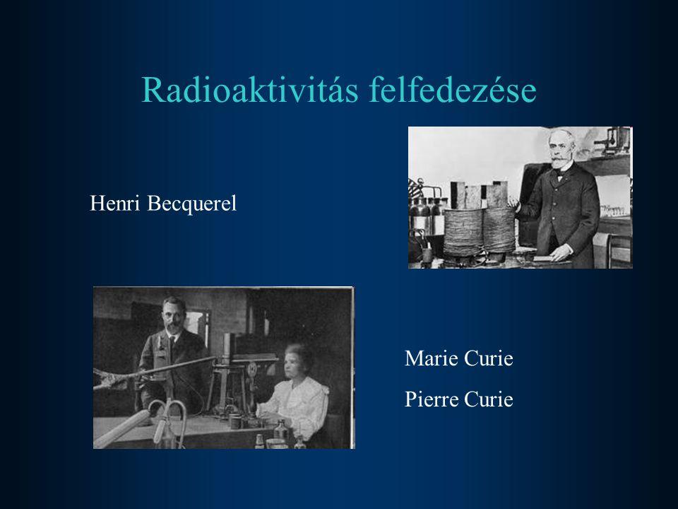 Radioaktivitásnak: az a jelenség, amely spontán sugárzással jár.