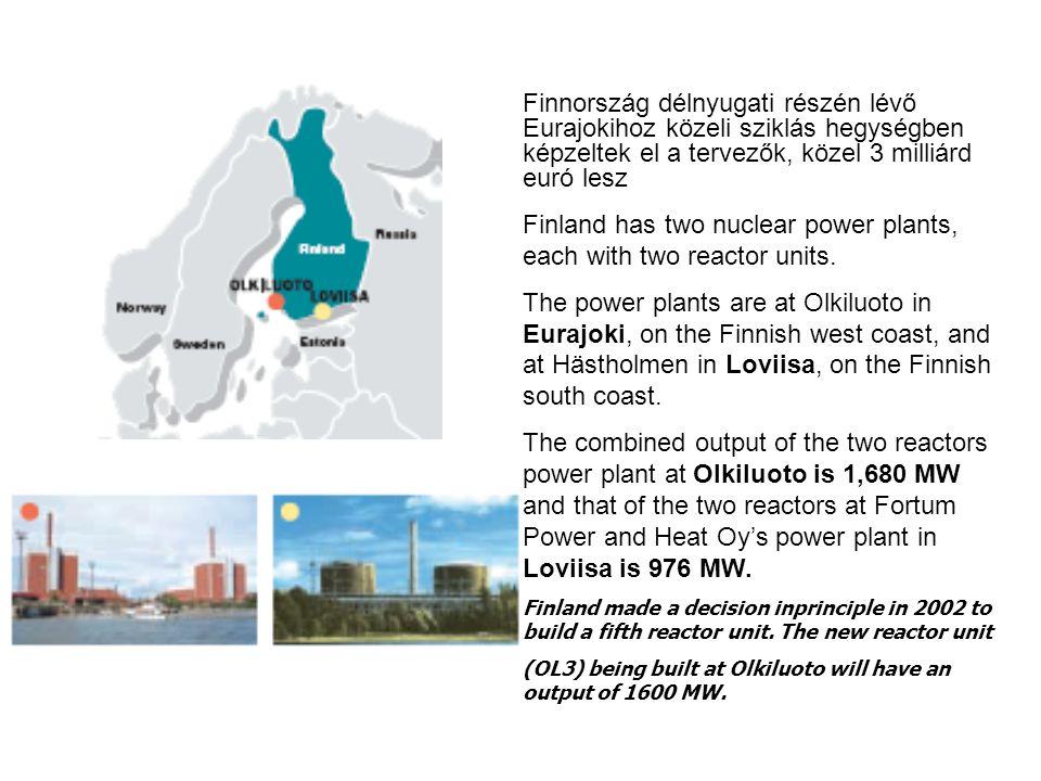 Végleges tárolóterek A végleges tárolóterek az aktív épülettől 150 méterre helyezkednek el.