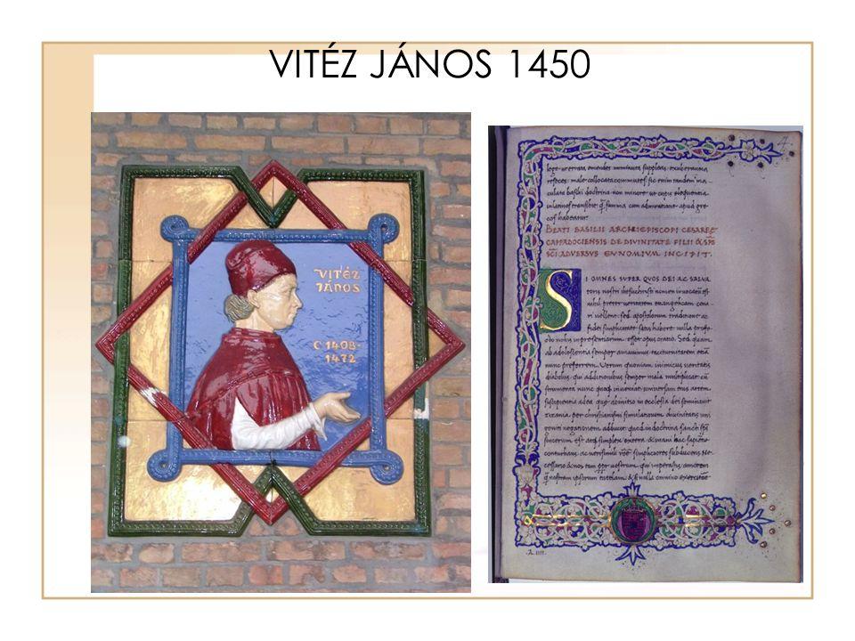 VITÉZ JÁNOS 1450