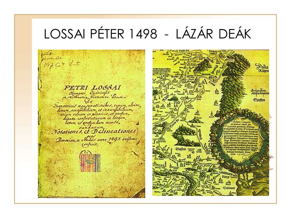 LOSSAI PÉTER 1498 - LÁZÁR DEÁK
