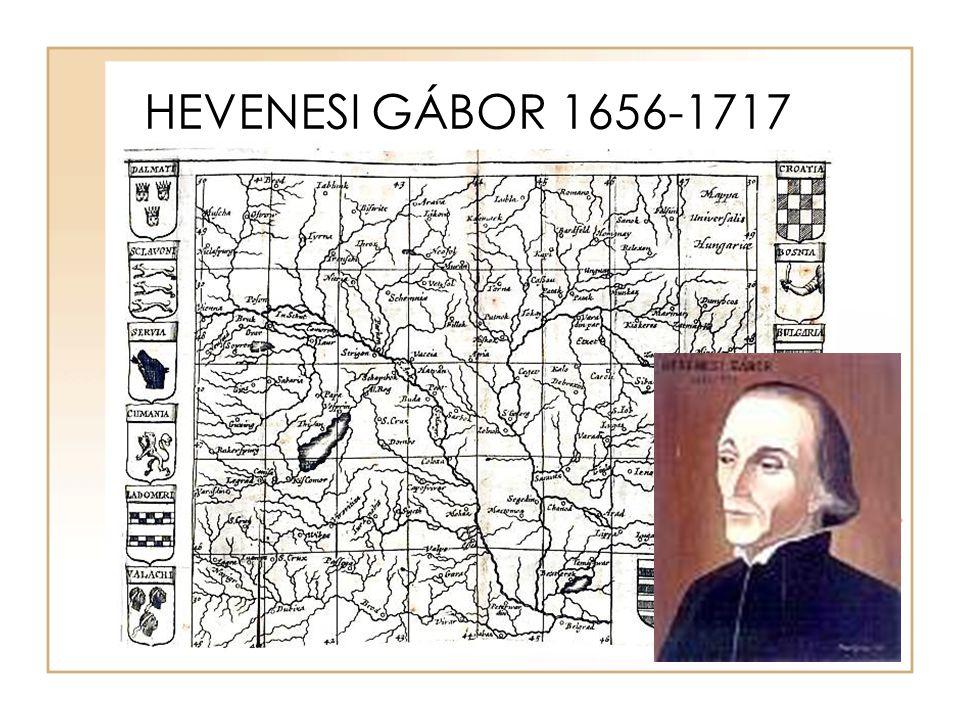 HEVENESI GÁBOR 1656-1717
