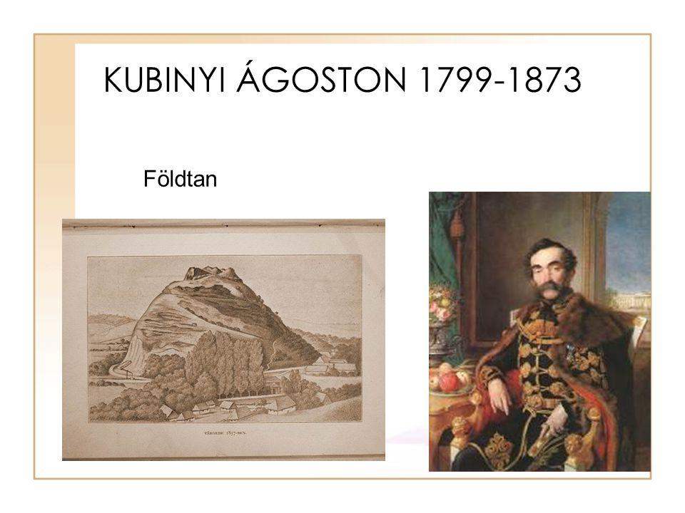 KUBINYI ÁGOSTON 1799-1873 Földtan