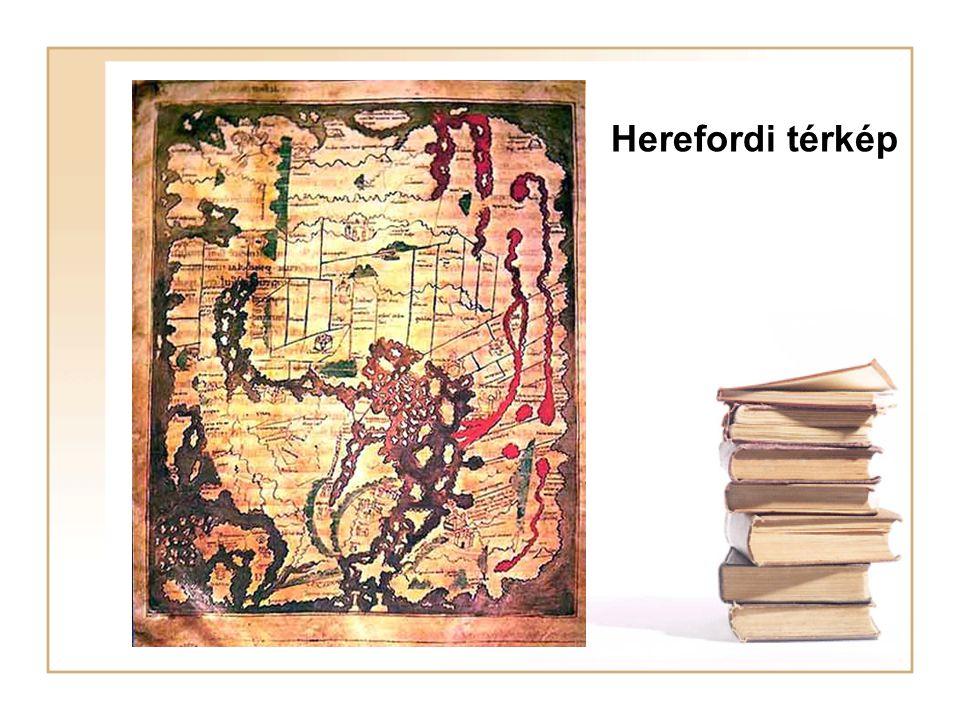Herefordi térkép