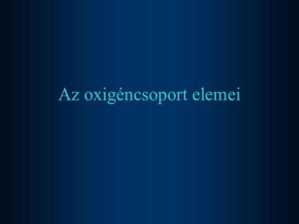Oxigén bioszervetlen kémiája