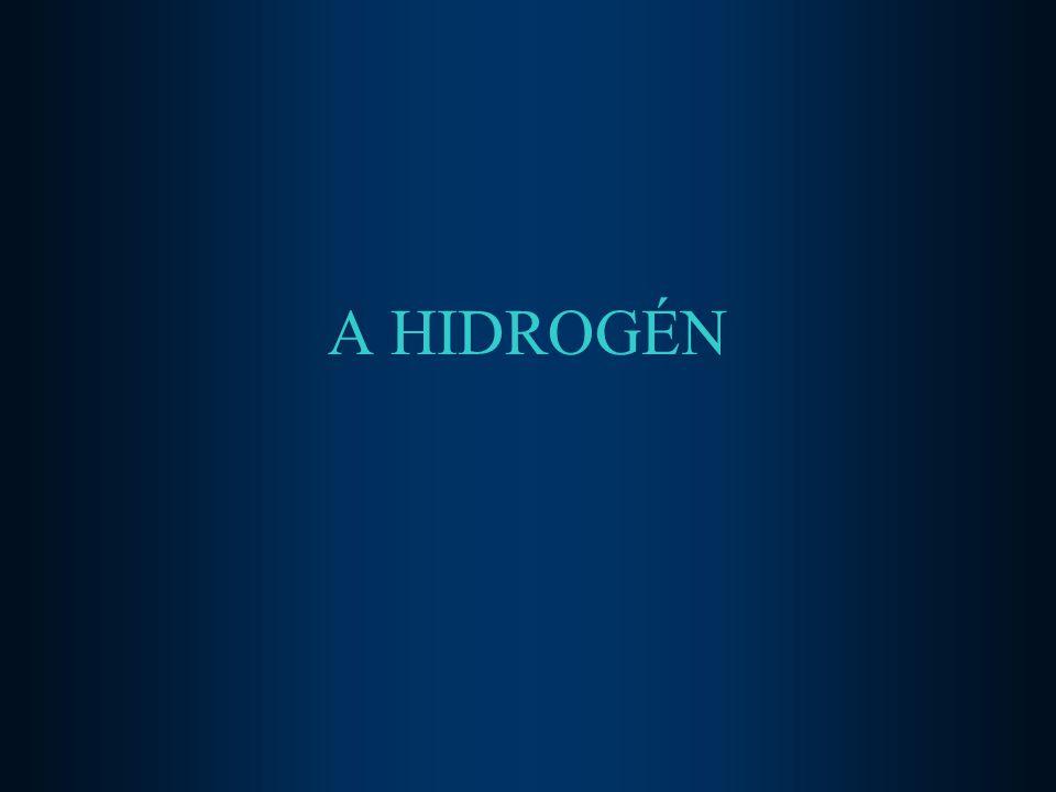 2.Oxigénnel - szobahőmérsékleten nem - meggyújtva, színtelen lánggal vízzé ég el 2H 2 + O 2 = 2H 2 O - durranó gáz (H 2 :O 2 = 2 : 1) 3.