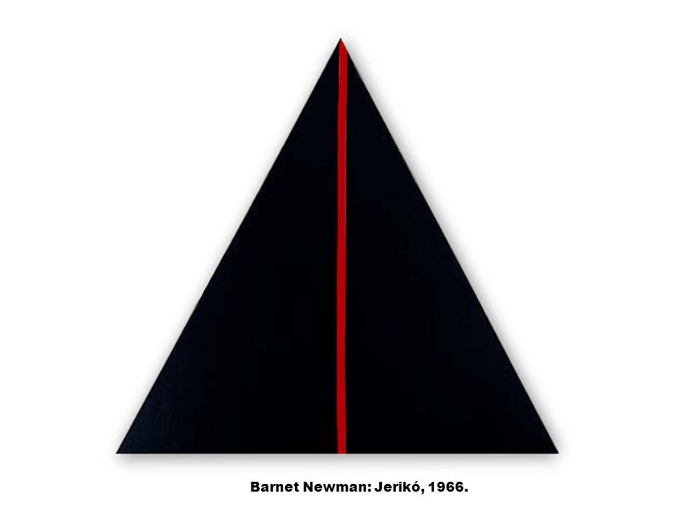 Barnet Newman: Jerikó, 1966.