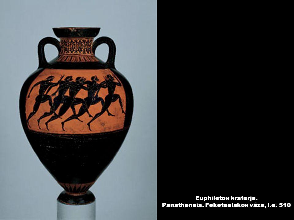 Euphiletos kraterja. Panathenaia. Feketealakos váza, I.e. 510