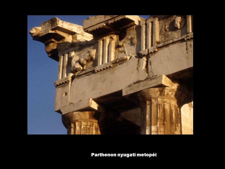 Parthenon nyugati metopéi