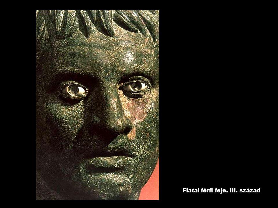 Fiatal férfi feje. III. század