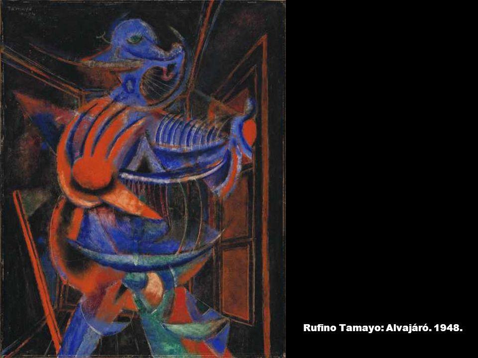 Rufino Tamayo: Alvajáró. 1948.