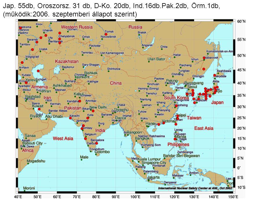 2006.október 2-9-16-23- Jap. 55db, Oroszorsz. 31 db, D-Ko.