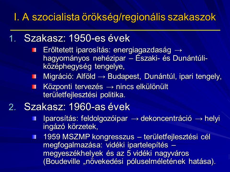 I.A szocialista örökség/regionális szakaszok 3.