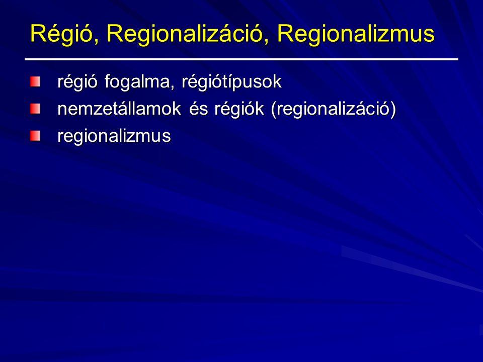 A regionális politika története törekvések (1957, 1964, 1972) Európai Regionális Fejlesztési Alap (1975, ERDF) Strukturális Alapok reformja: –1988.