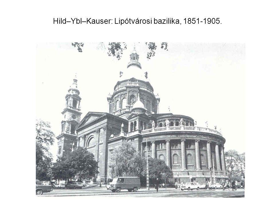 Steindl Imre: Az Erzsébetvárosi r. k. templom,