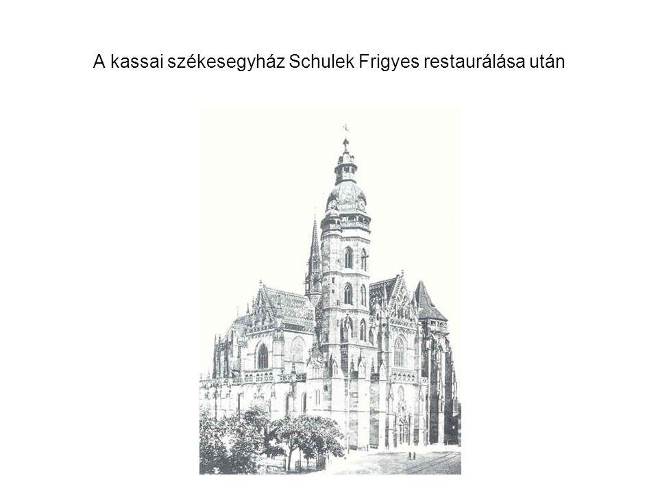 Gerster Károly–Frey Lajos: Zsinagóga, Pécs, 1864. belső