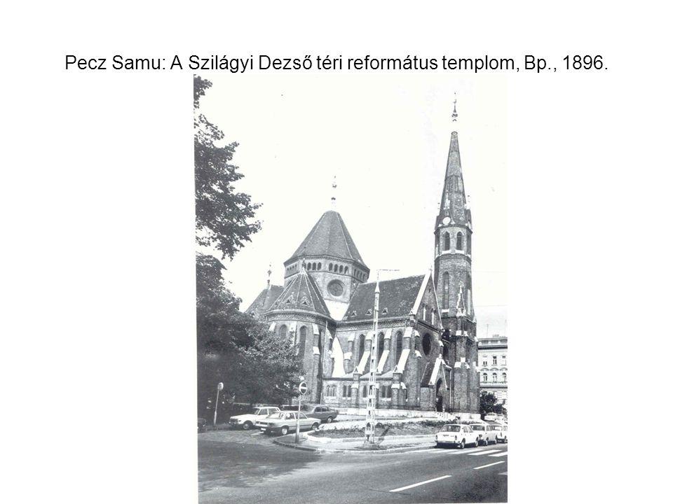 MÁV I. osztályú fővonali felvételi épülete, 1883.