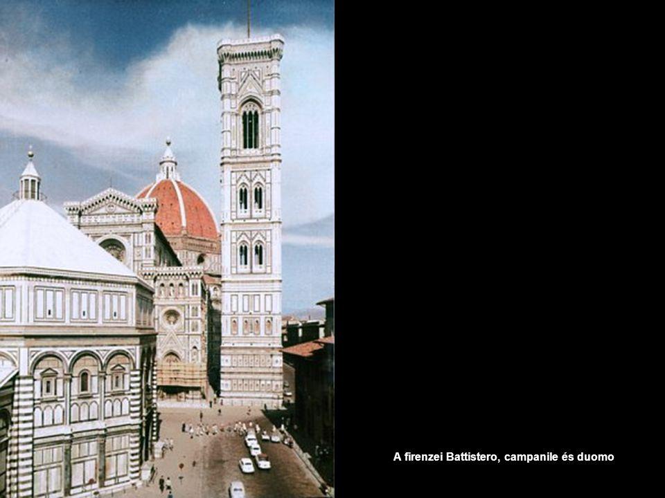 A firenzei Battistero, campanile és duomo