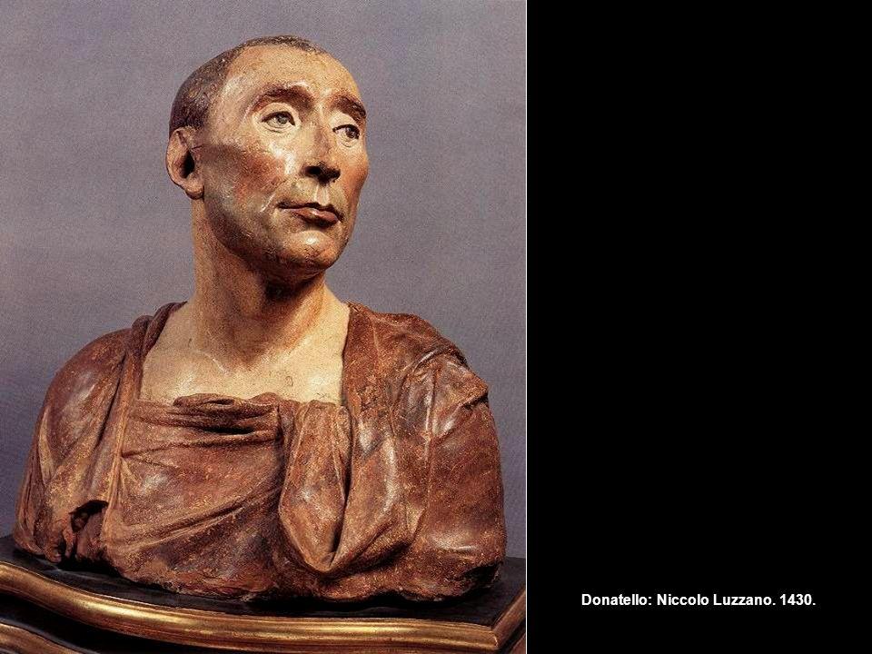 Donatello: Niccolo Luzzano. 1430.