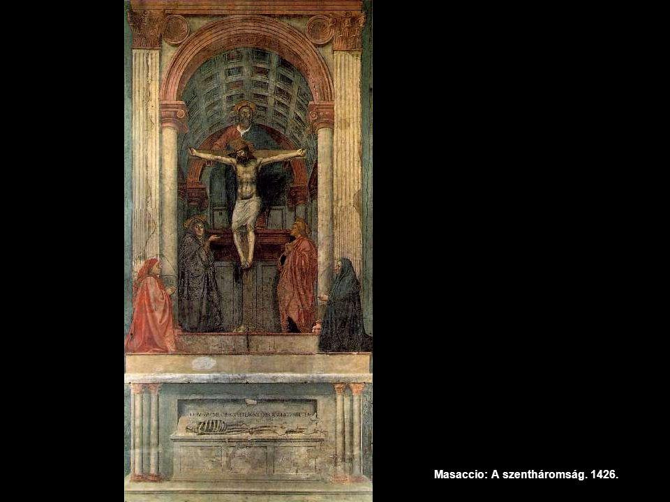 Masaccio: A szentháromság. 1426.