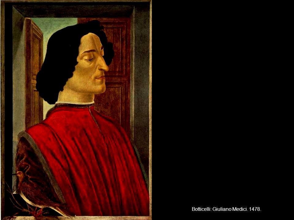 Botticelli: Giuliano Medici. 1478.