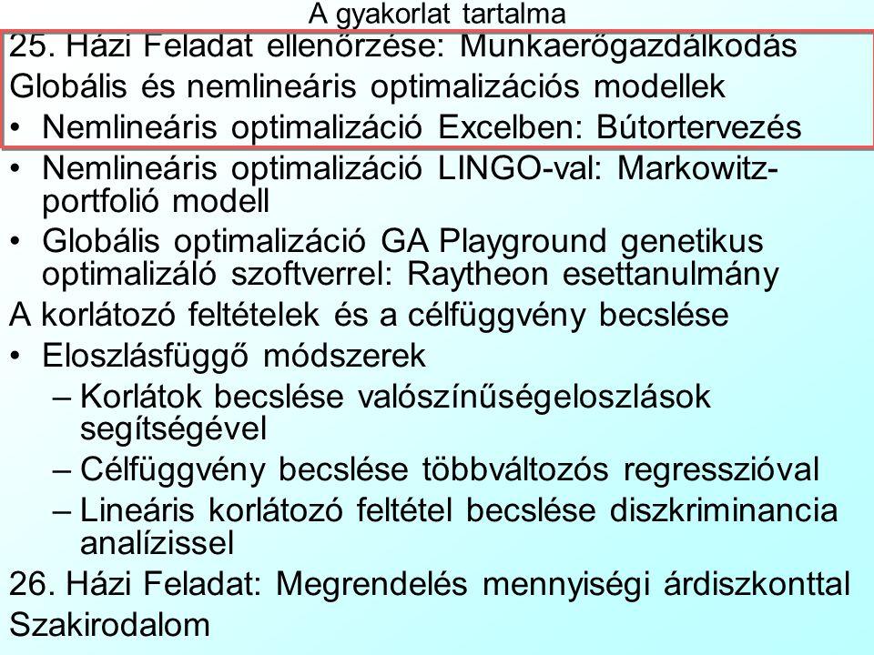 Pécsi Tudományegyetem Pollack Mihály Műszaki Kar Műszaki Informatika Szak Data Mining 26.