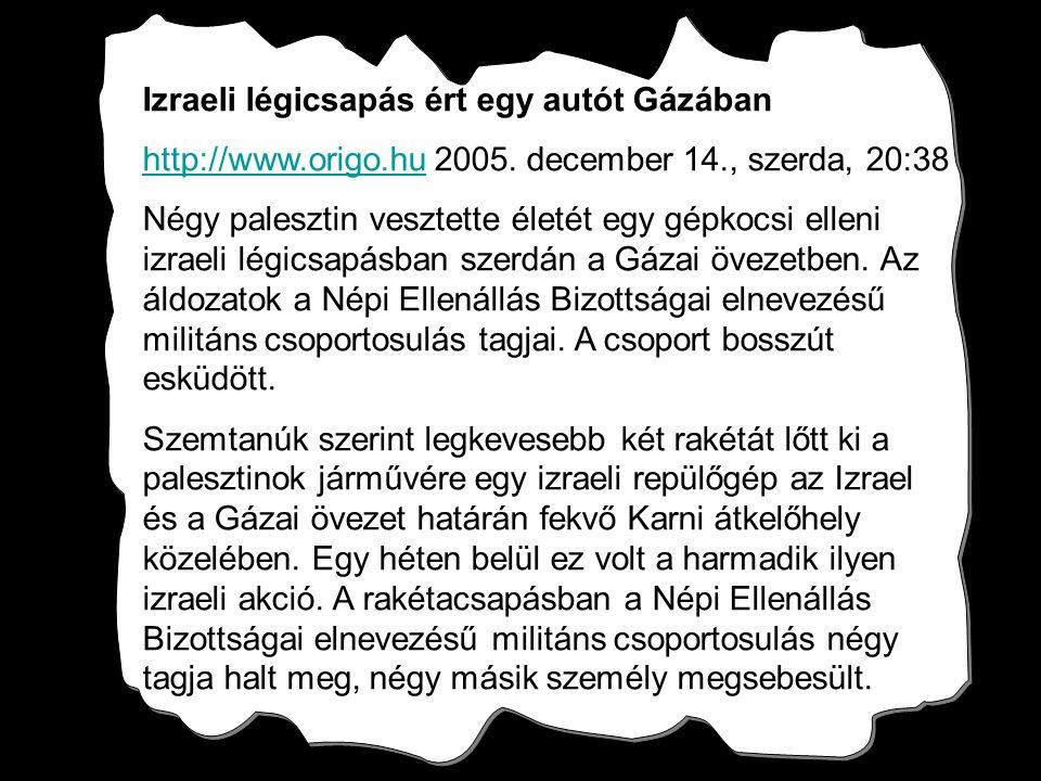 Karni Refugee Camp, Gaza, Dec 14,2005 0745 ZULU