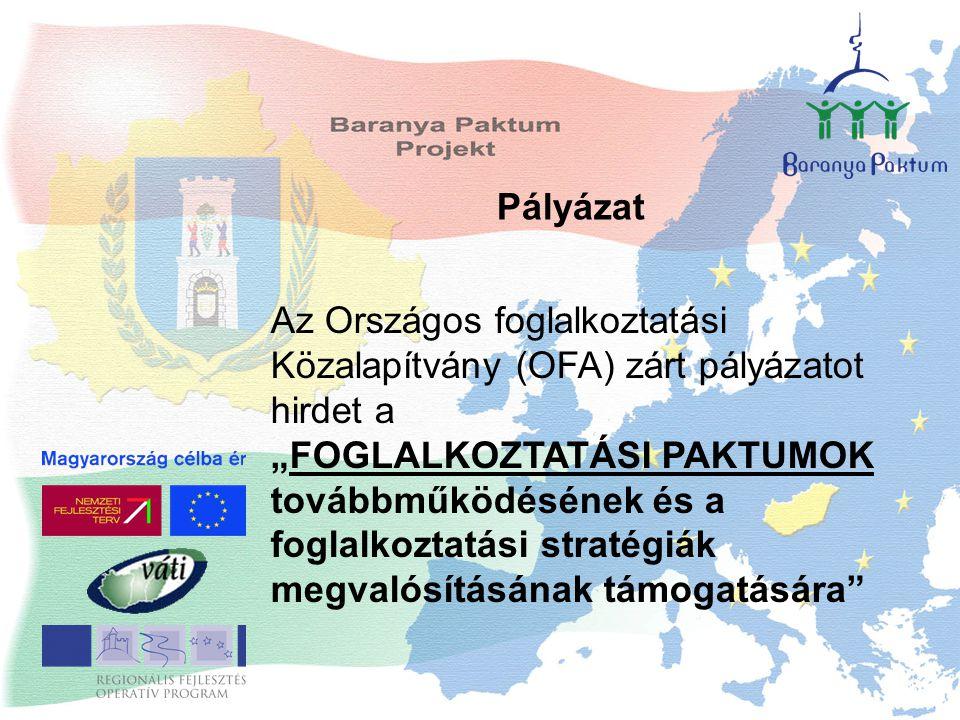"""Az Országos foglalkoztatási Közalapítvány (OFA) zárt pályázatot hirdet a """"FOGLALKOZTATÁSI PAKTUMOK továbbműködésének és a foglalkoztatási stratégiák m"""