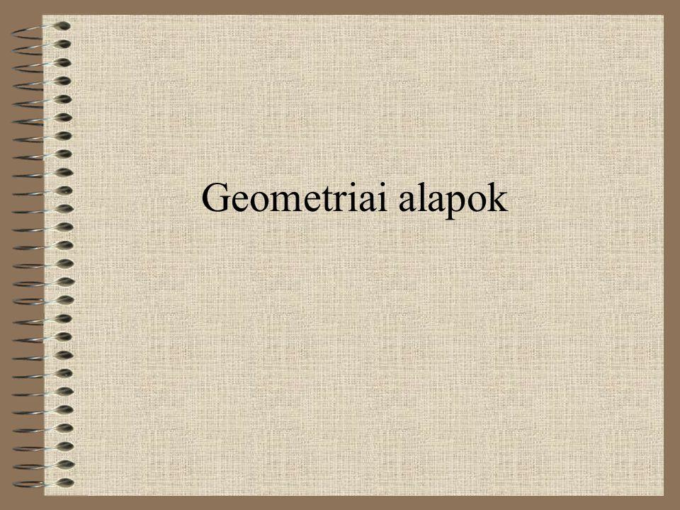 Geometriai alapok