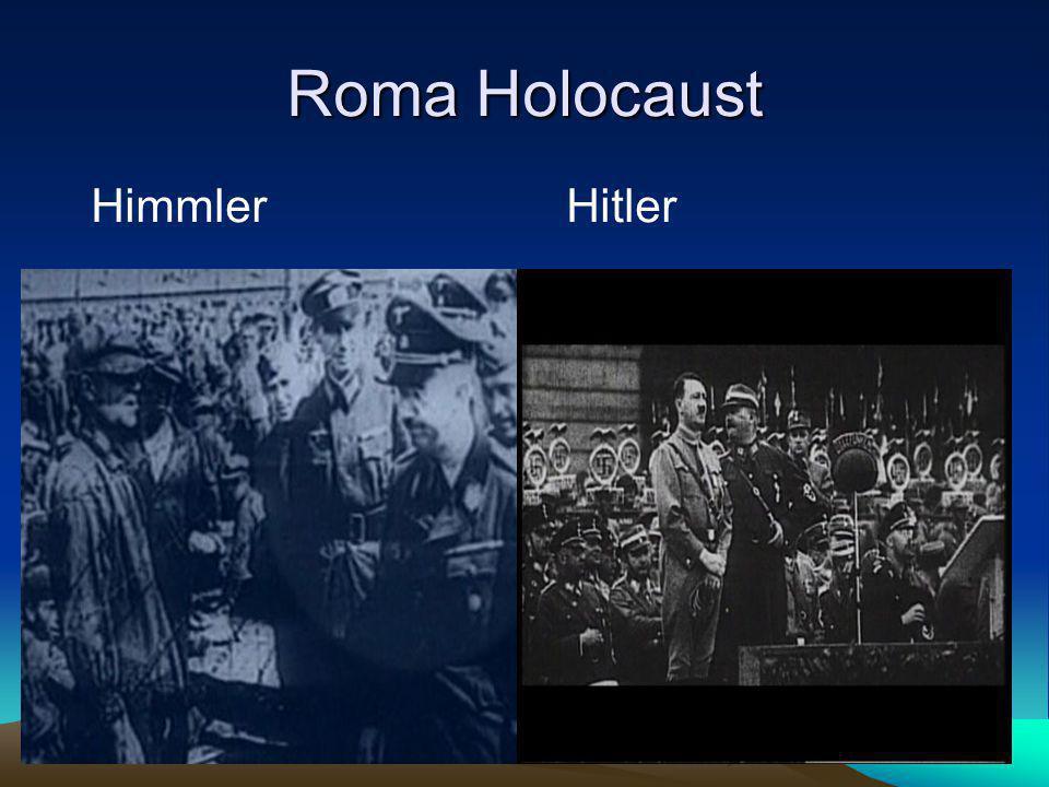 Roma Holocaust HimmlerHitler