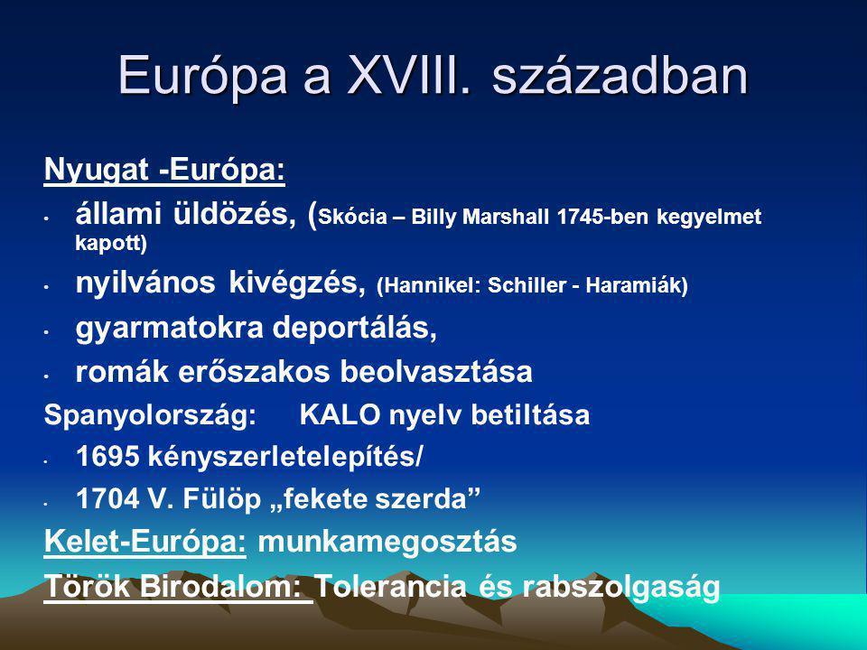 Európa a XVIII.