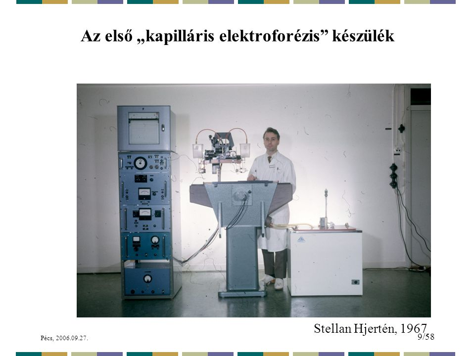 Pécs, 2006.09.27. 60/58 Oligonukleotidok gél-elektroforézise