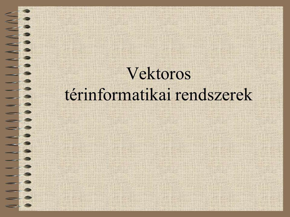 Vektoros térinformatikai rendszerek