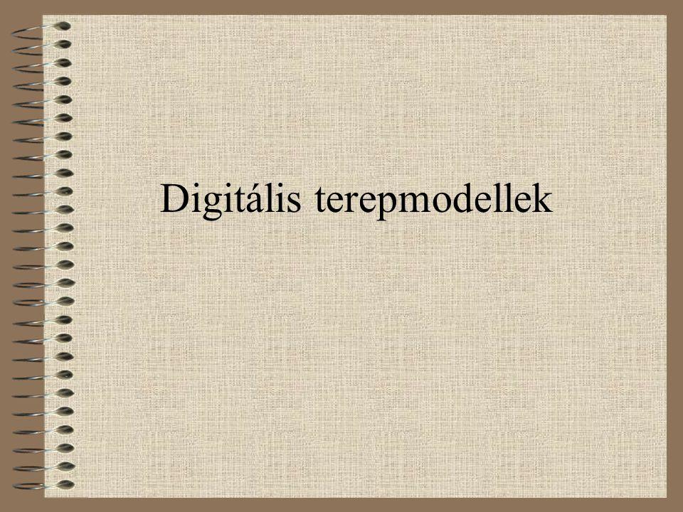 Digitális terepmodellek