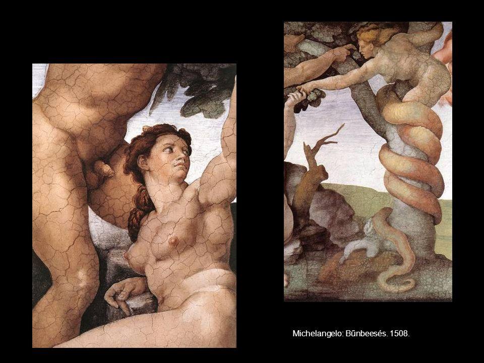 Michelangelo: Bűnbeesés. 1508.