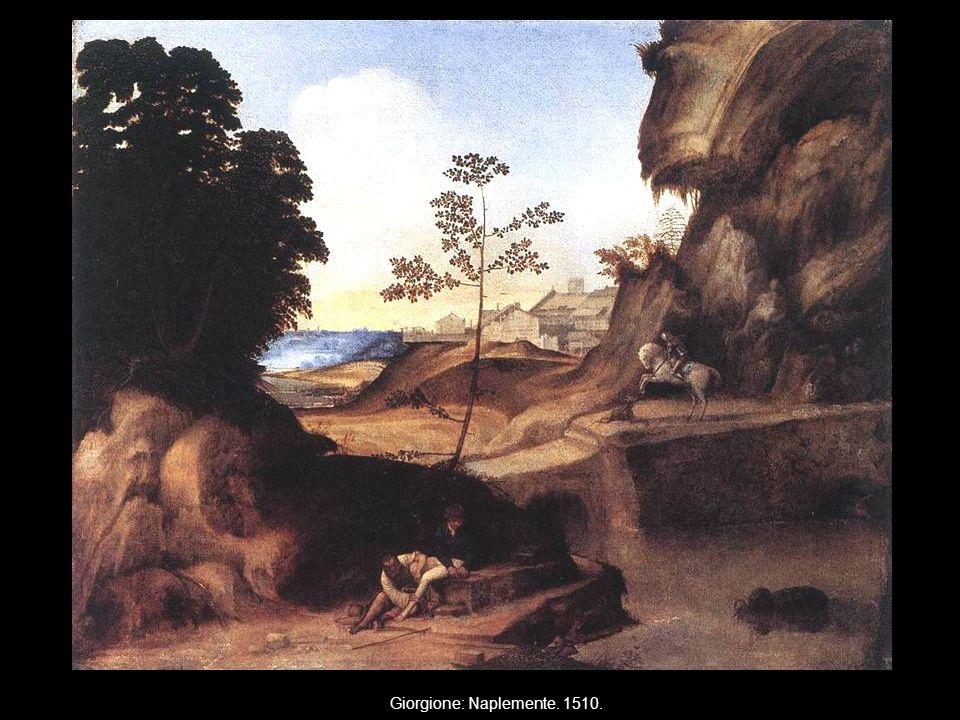 Giorgione: Naplemente. 1510.