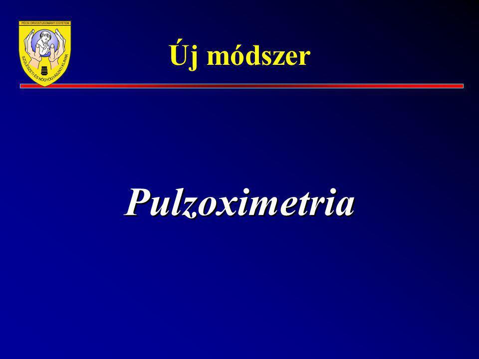 Új módszer Pulzoximetria