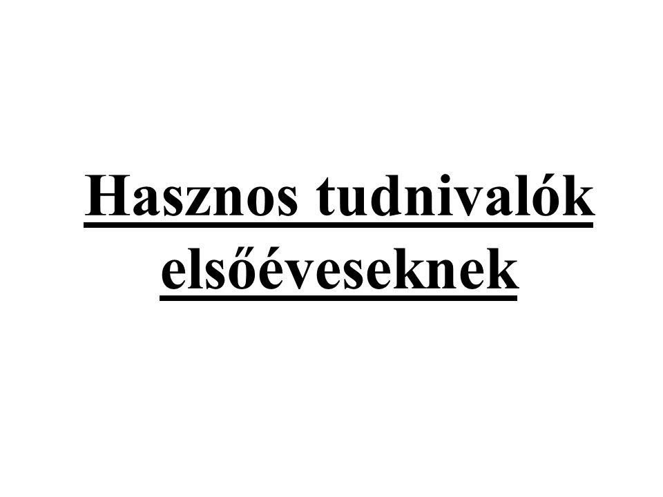 Tanulmányi Hivatal Török Gyöngyvér: Fogorvos és Gyógyszerész Szak 72/536-001/35528 mellék gyongyver.torok@aok.pte.hu Potos Bernadett: Általános orvos Szak 72/536-015 bernadett.potos@aok.pte.hu