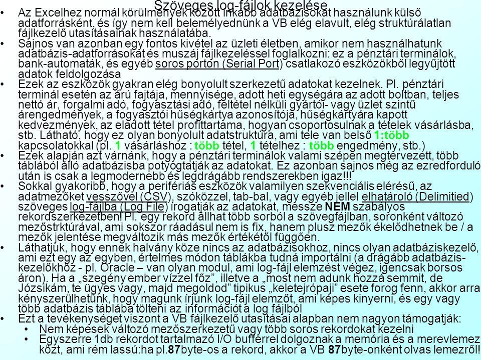 4-1.Gyakorló feladat: Ikon-bogarászás Programozza át a BinTextConv.xls fájlt oly módon, hogy az Excel konzultáció ikon 16 millió színű (3 egymás utáni