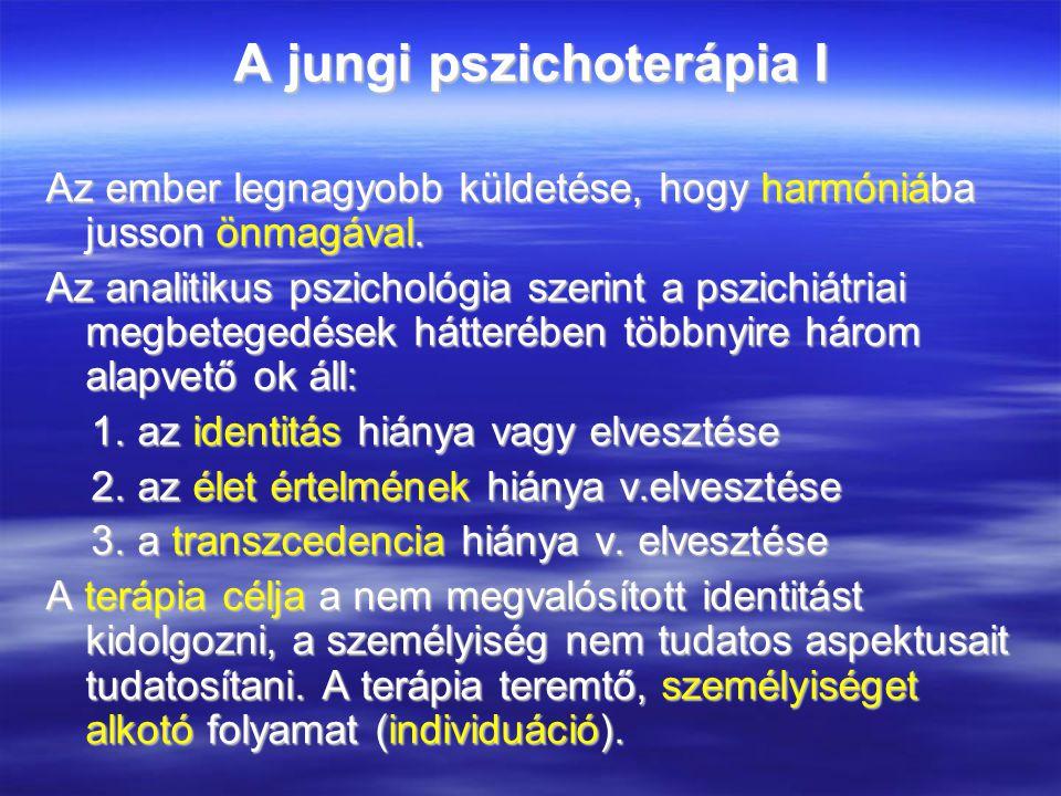 A jungi pszichoterápia I Az ember legnagyobb küldetése, hogy harmóniába jusson önmagával.