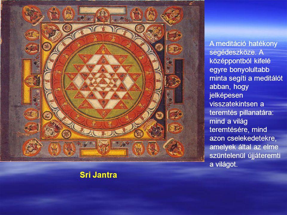 Sri Jantra A meditáció hatékony segédeszköze.