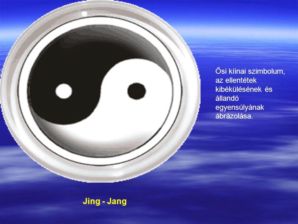 Jing - Jang Ősi kíinai szimbolum, az ellentétek kibékülésének és állandó egyensúlyának ábrázolása.