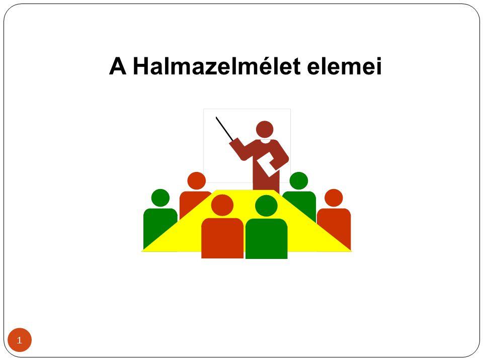 12 Adott H halmaztesten az A komplementerének komplementere maga az A, azaz: = A.