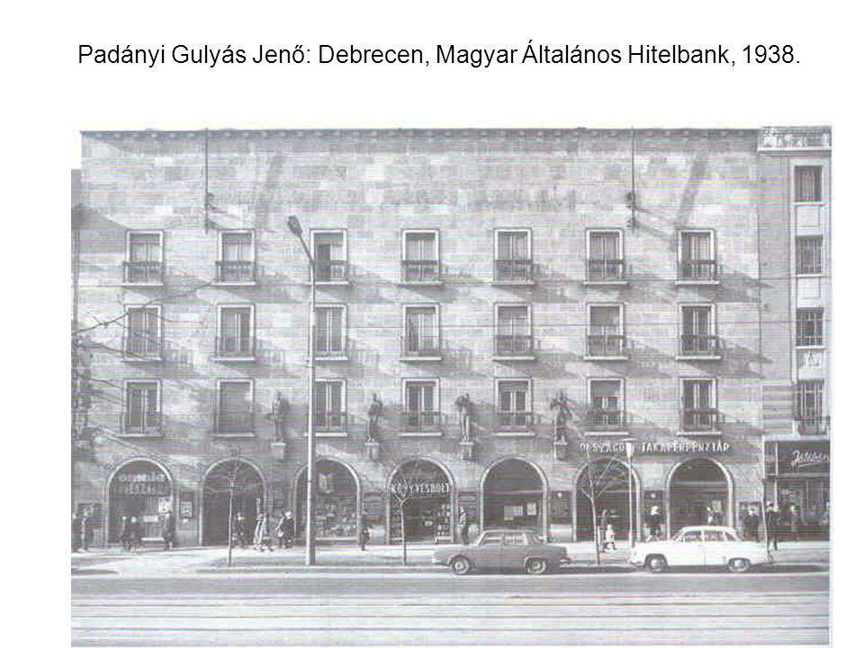 Padányi Gulyás Jenő: Debrecen, Magyar Általános Hitelbank, 1938.