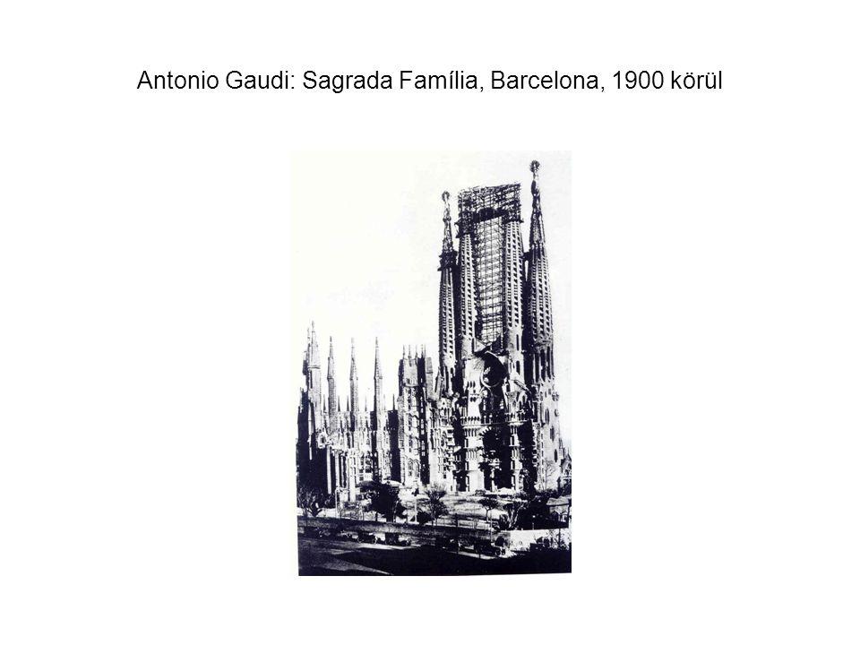 Antonio Gaudi: Casa Batlló, Barcelona, 1904-1906.