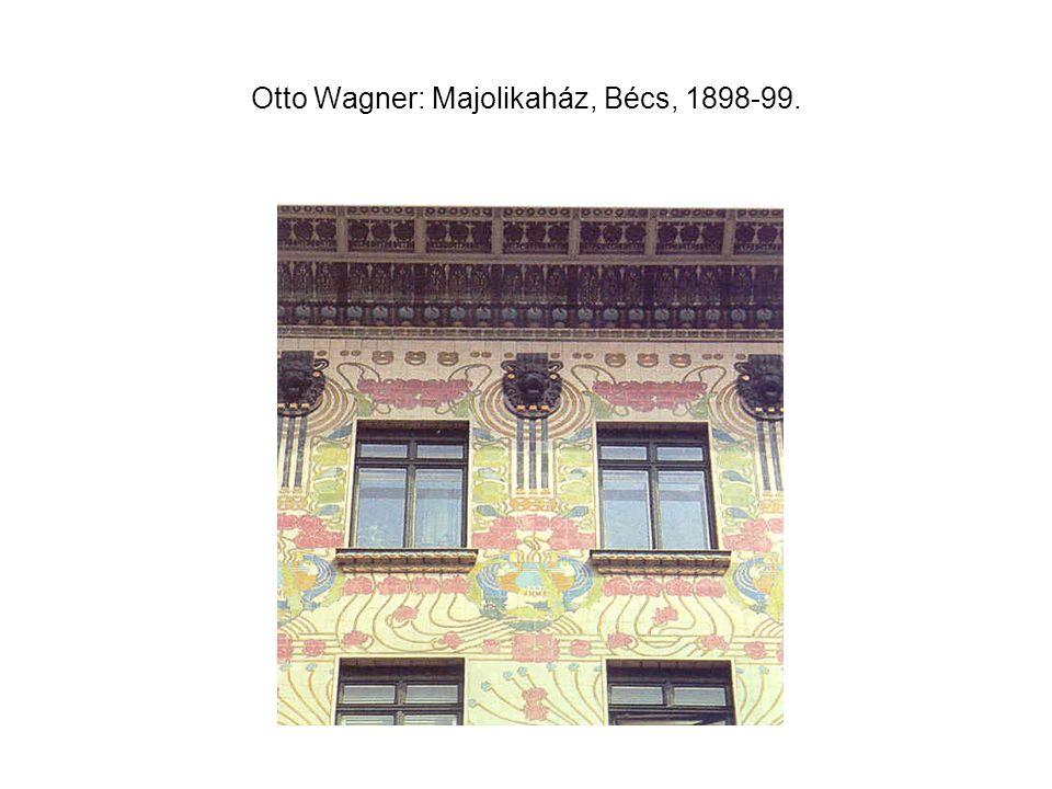 Steinhofi elmegyógyintézet Szt. Lipót-temploma, Bécs, 1905-07.