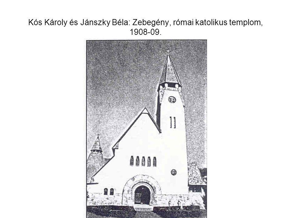 Kós Károly és Györgyi Dénes: Városmajor utcai iskola, Bp., 1910-11.