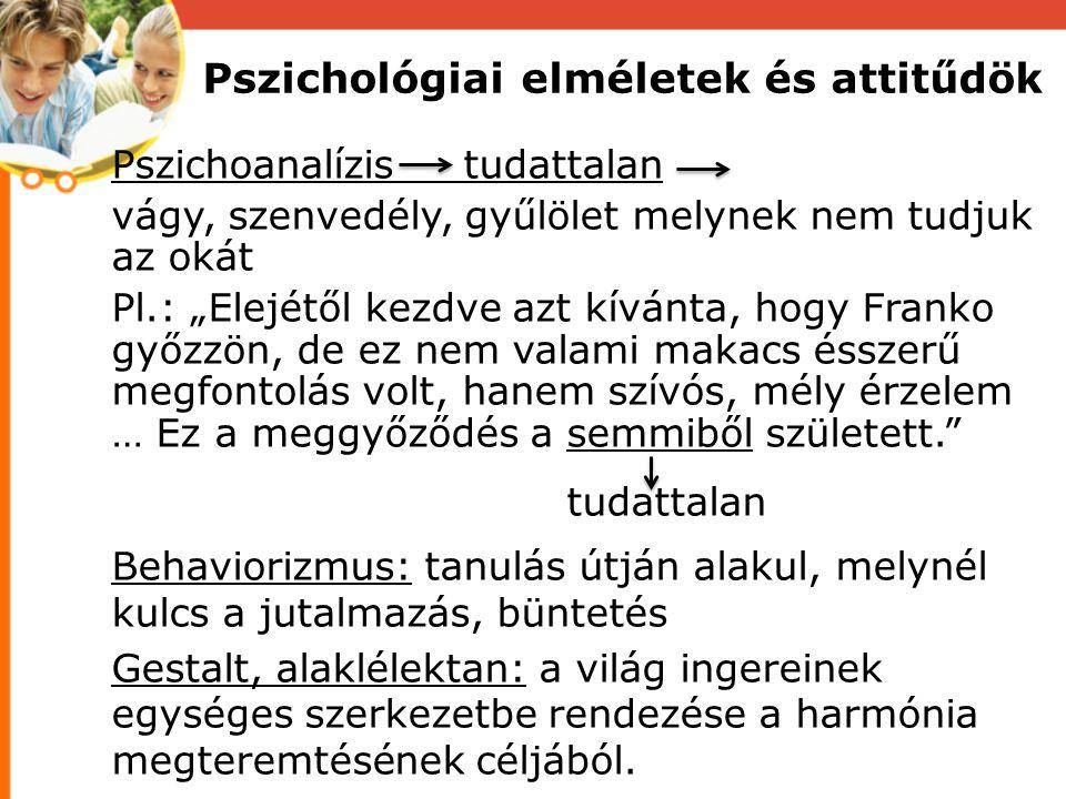 """Pszichoanalízis tudattalan vágy, szenvedély, gyűlölet melynek nem tudjuk az okát Pl.: """"Elejétől kezdve azt kívánta, hogy Franko győzzön, de ez nem val"""