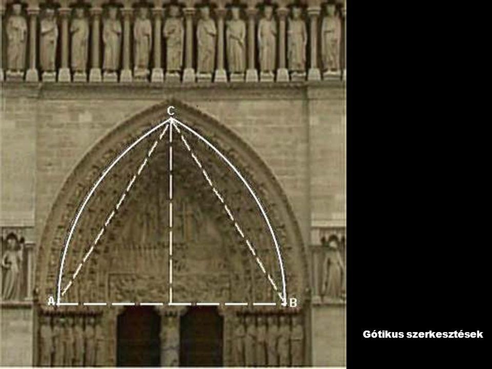 Gótikus szerkesztések