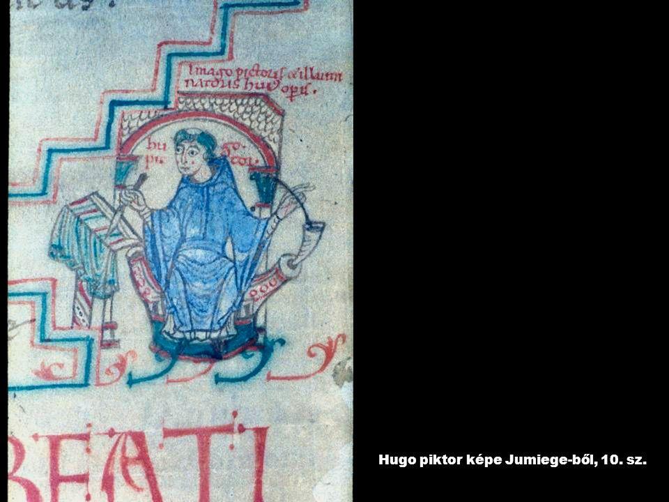 Hugo piktor képe Jumiege-ből, 10. sz.