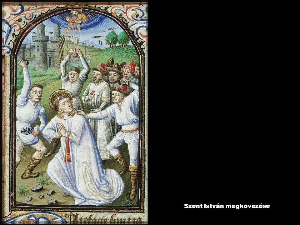 Szent István megkövezése